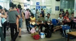 Nhiều trẻ bị tiêu chảy do nắng nóng kéo dài