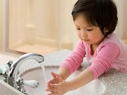 rửa tay chống bệnh tiêu chảy cấp