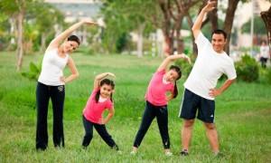 Tập thể dục có tác dụng lớn trong việc tăng cường sức khỏe