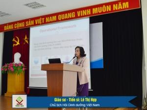 GS.TS Lê Thị Hợp, Chủ tịch Hội Dinh dưỡng Việt Nam