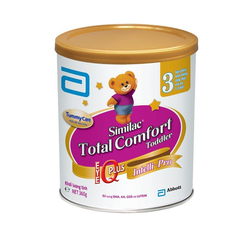 Sữa dành cho bé bị tiêu chảy Similac Gain Plus Total Comfort