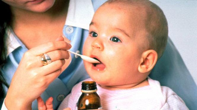 Thuốc trị táo bón cho bé