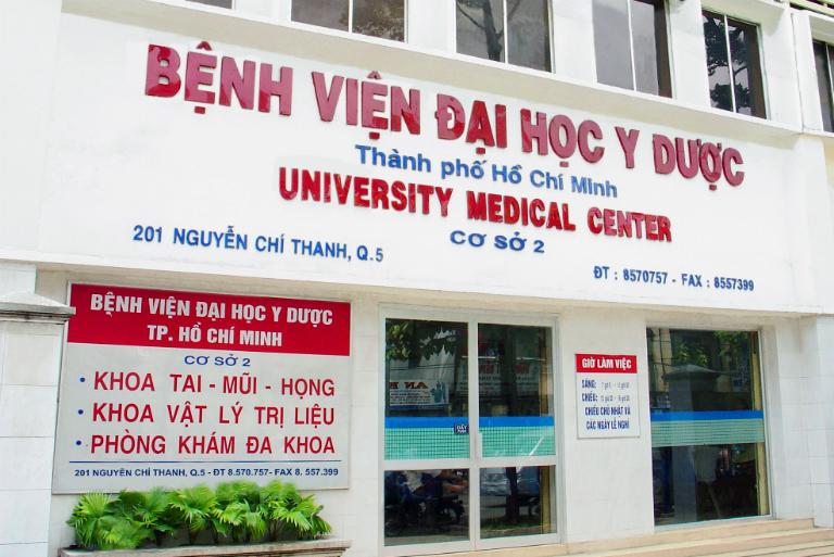 Trị trĩ tại bệnh viện Đại học Y dược TP HCM
