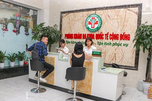 Phòng khám đa khoa Quốc Tế Cộng Đồng chữa trị hiệu quả